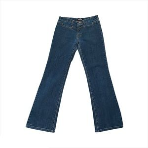 Hermes Vintage Low Rise Flare Jeans